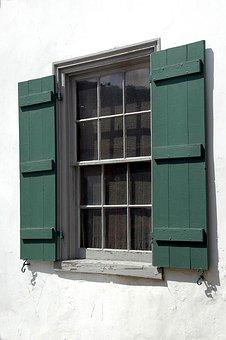 Vintage, Window, Design, Retro, Decoration, Building