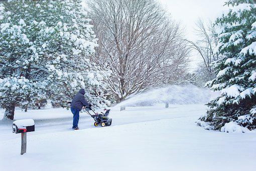 Snow, Snow Blowing, Snowblower, Snow Removal, Weather