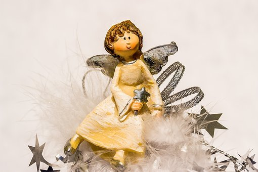 Christmas Angel, Angel, Angel Figure, Advent