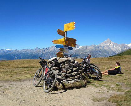 Alpine, Switzerland, Summer, Nature, Landscape