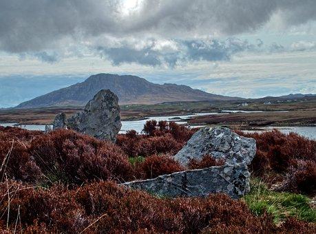 Scotland, Noth Is, Pobull Fhinn, Archaeological Site