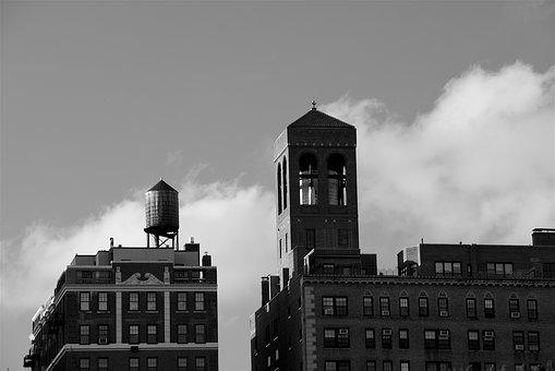 Building, City, Water Tower, Urban, Architecture