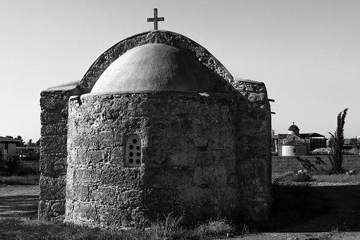 Cyprus, Xylotymbou, Ayios Vasilios, Church, Orthodox