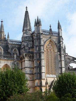 Church, Batalha, Unesco, Building, Architecture