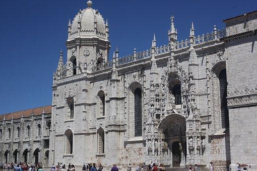 Portugal, Lisbon, Lisboa, Jerónimos Monastery