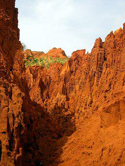 Red Canyon, Red Sand, Sand Canyon, Phan Thiet, Vietnam
