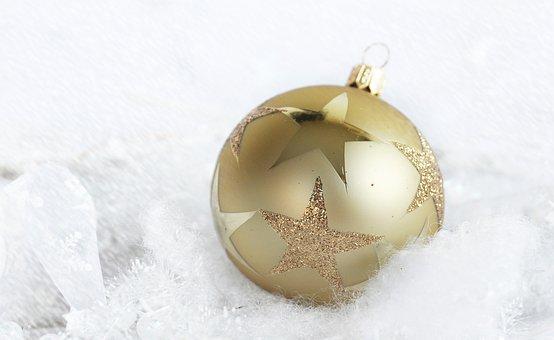 Christmas Bauble, Star, Christmas, Deco, Advent