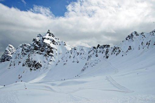 Step Padon, Dolomites, Sci, Dolomiti Superski, Veneto