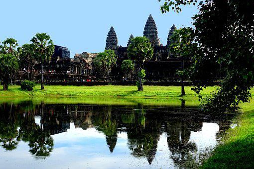 Angkor Wat, Temple Complex, Cambodia, Asia