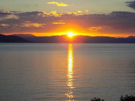 Aegina Island, Greece, Summer, Sunset