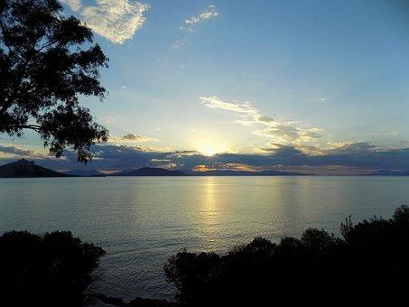 Aegina Island, Greece, Sunset