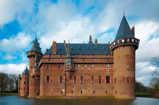 Castle De Haar, The Netherlands, Fortress, Architecture