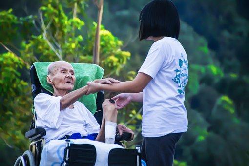 Hospice, Caring For Elder, Help, Elderly, Patient