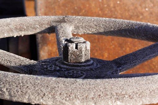 Steering Wheel, Hoarfrost, Steam Roller