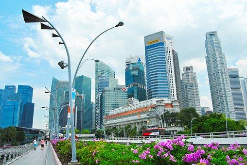 Singapore, Trip, City, Vista, ещгкшые