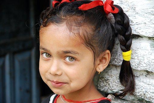 Nepal, Portrait, Children