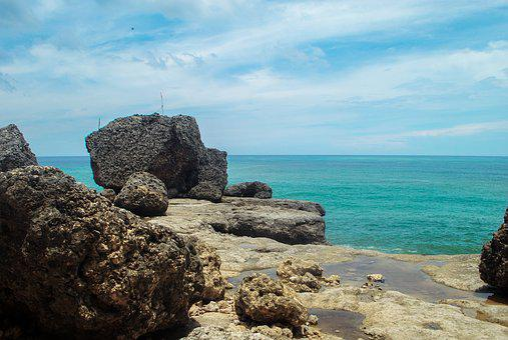 Beach, Landscape, Natural, Indonesian, The Landscape