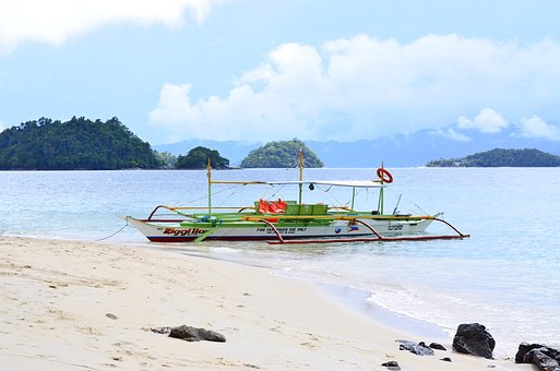 Palawan, Philippines, Boat, Nature, Travel, Tropical