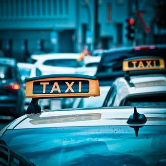 Taxi, Auto, Road, Drive, Shield, Traffic, Taxi Stand