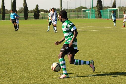 Football, Ball Control, Player, Domain, Sport, Boot