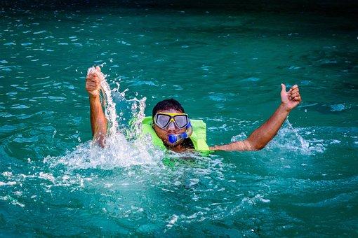 Beach, Dive, Diving, Mask, Sand, Scuba, Sea, Snorkel