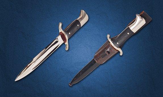Dagger, Blade, Steel Arms, Handle, Garda, Sharp, Battle