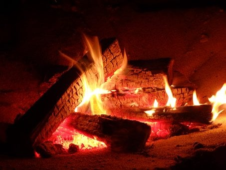 Crackle, Campfire, Fire, Logs, Flame, Heat, Wood, Hot