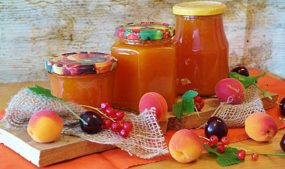 Jam, Apricots, Apricot, Cook, Preparations, Glasses