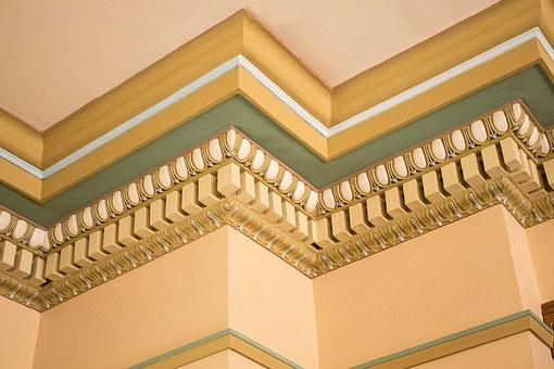 Crown Molding, Ornate, Woodwork, Molding, Crown