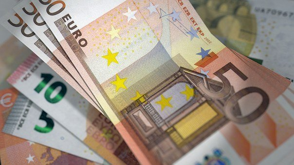 Euro, Banknotes, Currency, Bill, Cash