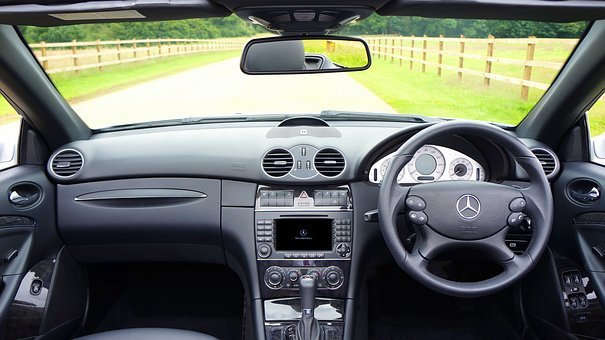 Car, Interior, Vehicle, Auto, Automobile, Dashboard