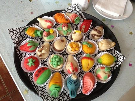 Cookies, Colorful, Food, Dessert, Assortment