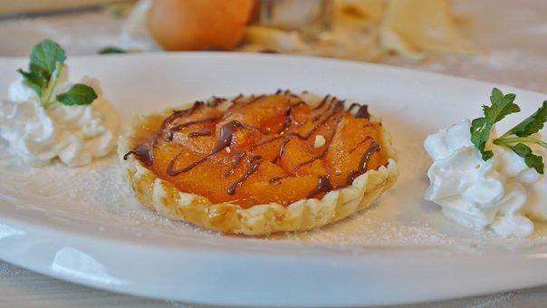 Pie, Tart, Apricot, Apricot Cake, Dessert, Cream