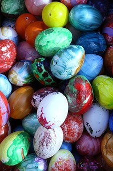 Eggs, Easter, Handmade, Easter Egg, Celebration