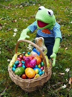 Easter, Search, Easter Eggs, Osterkorb, Easter Nest