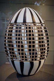 Egg, Easter, Porcelain, Easter Egg, Colored Egg, Close