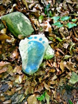 Human, Foot, Footprint, Footsteps, Reprint, Traces