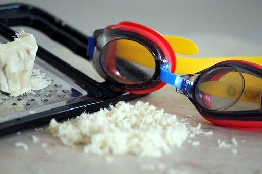 Horseradish, Sea Ret Ich, Diving Mask, Spice, Sharp