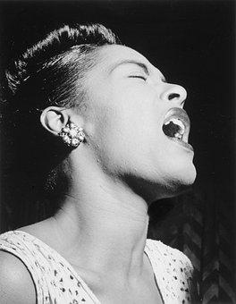 Billie Holiday, 1947, Portrait, Jazz And Blues Singer