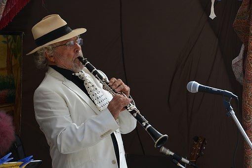 Clarinetist, Clarinet, Jazz, Concert, Musician, Music
