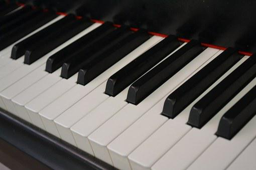 Music, Piano, Piano Keys, Instrument, Keyboard, Sound