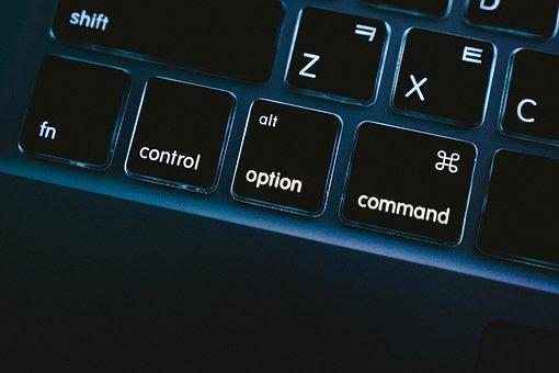 Macbook, Macbook Pro, Keyboard, Command, Options