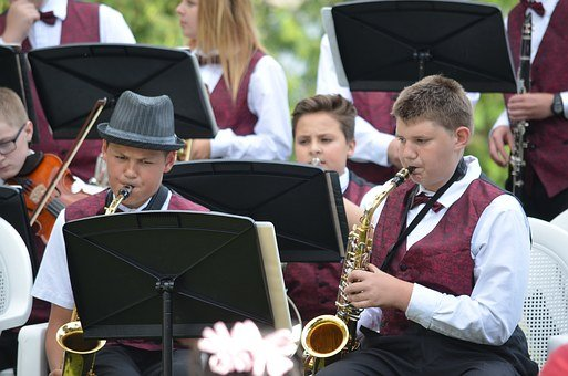 Jazz, Band, Middle School, Jazz Band, Concert, Music