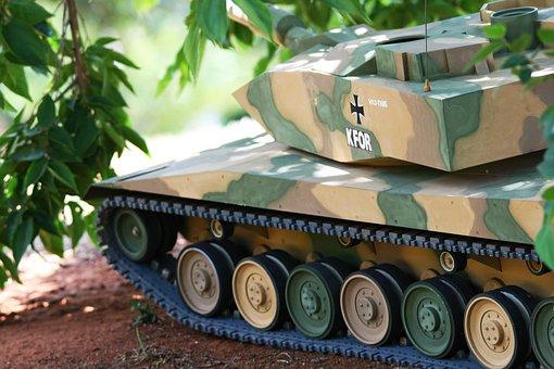 German Tank Model, Tank, Model, Leopard, A 7, Detail