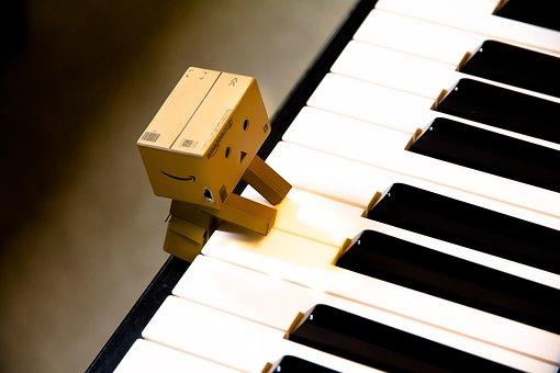 Music, Keys, White, Musical, Music Note, Musical Notes