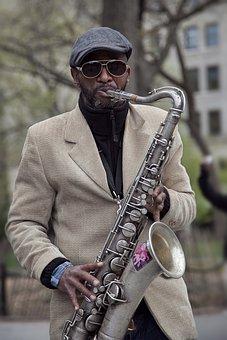 Sax, Player, Jazz, New York, Music, Instrument