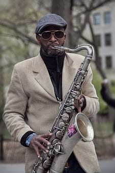 Sax, Player, Jazz, New York, Music, Instrument