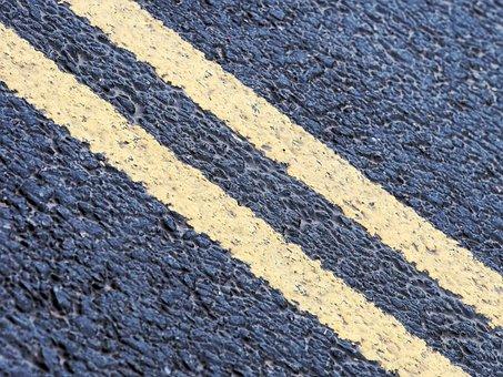 Double, Yellow, Line, Parking, Restriction, Prohibit