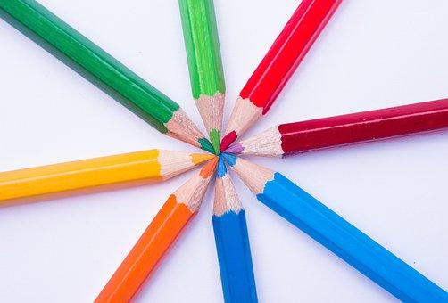 Spectrum, Color, Chevreul, Chromatique, Rainbow, Array