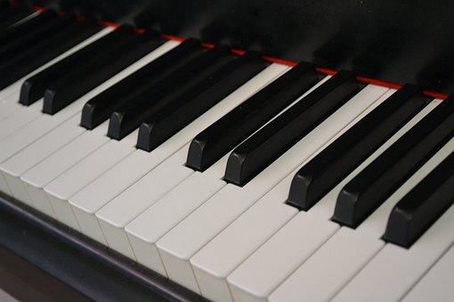 Music, Piano, Piano Keys, Instrument, Keyboard, Sound